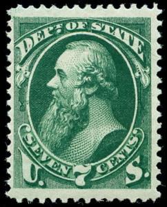 momen: US Stamps #O61 Mint OG VF Jumbo