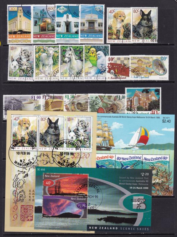 New Zealand x 3 sets,3 minis & a single all CTO
