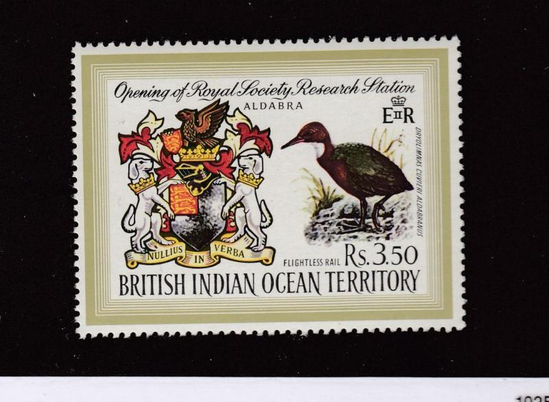BRITISH INDIAN OCEAN TERRITORY # 43 VF-MNH CAT VALUE $16.50