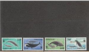 FAROE ISLANDS 208-211 MNH 2019 SCOTT CATALOGUE VALUE $7.50