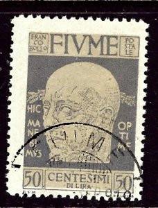 Fiume 93 Used 1920 issue    (ap3369)