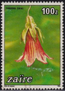 Zaire - 1984 - Scott #1153 - used - Flower