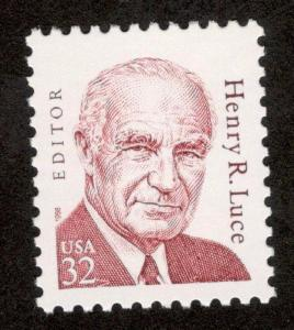 2935 Henry R. Luce Single Mint/nh FREE SHIPPING