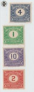 Panama BOB Postal stamp revenue fiscal 6-1-21-1 -  ?? mlh gum
