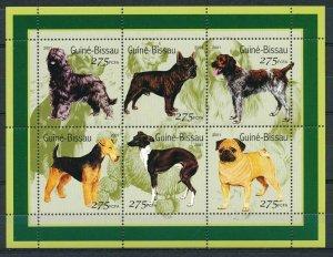 Guinea-Bissau - MNH Souvenir Sheets Animals Dogs (2001)