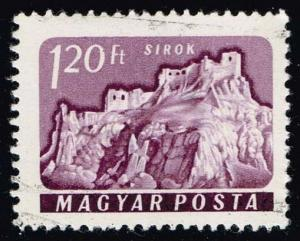 Hungary #1362 Sirok Castle; CTO (0.25)
