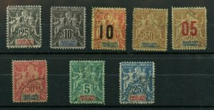Guadeloupe Fournier Forgeries   Cat $143