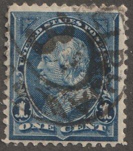 USA stamp, Scott# 247, used, hinged, single stamp, #x-71