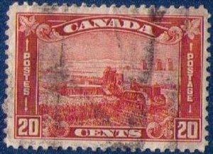CANADA Sc 175 Used  Centering Very Fine