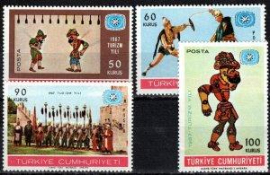 Turkey #1730-33 MNH CV $6.25  (X7312)