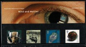 G.B.QE II 2000 MIND & MATTER MINT (NH) SG2162-65 P.O.PACK 315 SUPERB