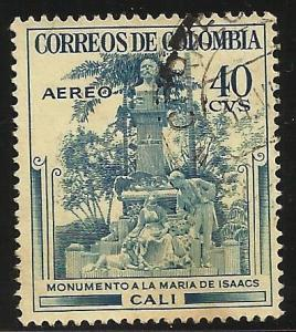 Colombia Air Mail 1954 Scott# C245 Used