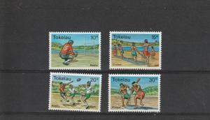 Tokelau  Scott#  69-72  MNH