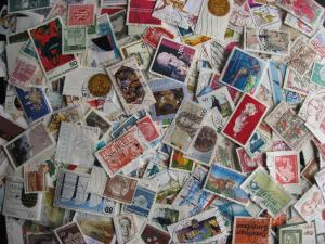 W GERMANY colossal mixture(duplicates,mixed cond)1000 laid out45%comems,55%defin