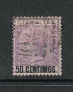Gibraltar, Sc 27 (SG 20), used
