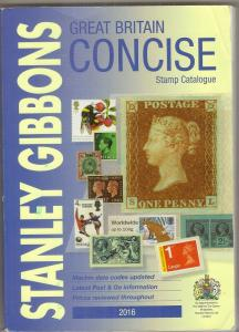 GB 2016 Stanley Gibbons Concise Stamp Catalogue