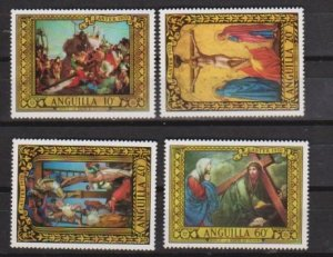 1970 Anguilla Scott 91-94 Easter MNH