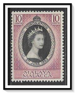 Malacca #27 Coronation Issue MH