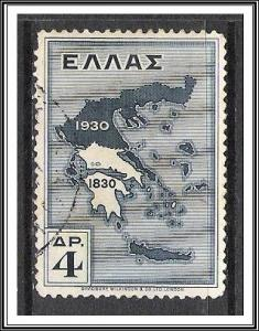 Greece #359 Map Used
