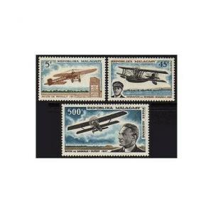 Malagasy 400-401,C84,MNH.Michel 562-564. Jean Raoult,Barnard-Bougault,1967.