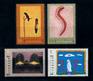 [73475] Australia 1993 Paintings Birds  MNH