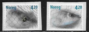 Norway Scott #'s 1261 - 1262 MNH