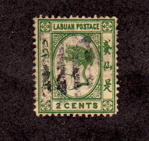 Labuan - 1880-1882 - SC 5 - Used - Queen Victoria