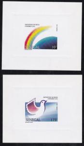 Senegal # 1108-1111, UPU Congress, Deluxe Sheets, NH