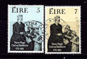 Ireland 374-75 Used 1975 set