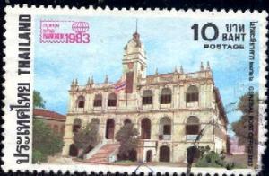 Old General Post Office, Bangkok 1983, Thailand SC#1026 used