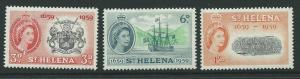 ST.HELENA SG169/71 1959 SETTLEMENTS MNH