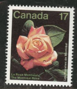 Canada Scott 896 MNH** 1981 The Montreal Rose