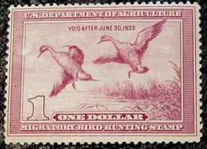 U.S. RW5 FVF MNH SCV$475.00 Bright Color