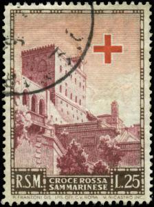 San Marino Scott #305 Used