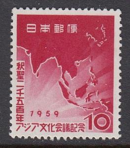 Japan 666 mnh