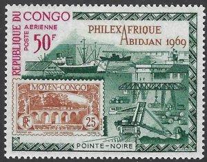 Congo Republic 77 MLH BIN $2.00