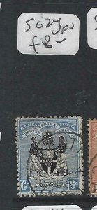 BRITISH CENTRAL AFRICA  (P0207B) 6D   SG 24    VFU