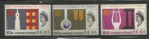 HONG KONG, 231-233, H, UNESCO ANN