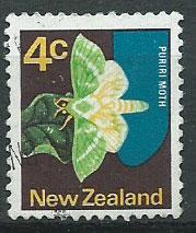New Zealand SG 1011  VFU unwatermarked paper
