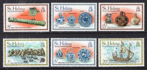 St Helena 318-323 MNH VF