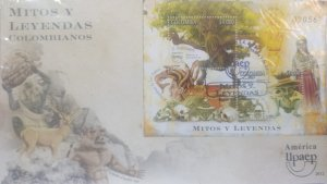 O) 2012 COLOMBIA, AMERICA UPAEP, MYTHS AND LEGENDS, STORIES OWN STORIES OF