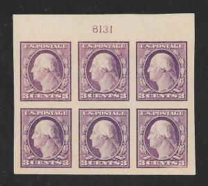 483 MNH 3c. Washington, Superb, scv: $200