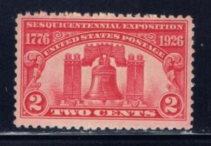 u.S. 627 NH 1926 issue