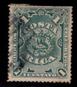 Costa Rica Scott 35 Used cut perfs at top hinge remnant