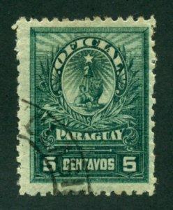 Paraguay 1901 #O45 U SCV (2018) = $0.50