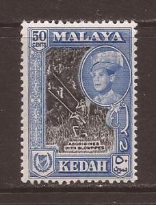 Malaya-Kedah scott #102a m/lh stock #17435