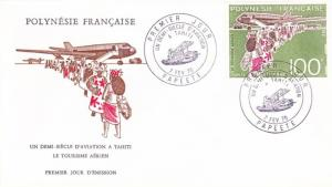 French Polynesia Scott C114 Unaddressed.