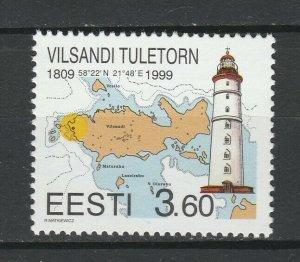 Estonia 1999 Lighthouse MNH stamp