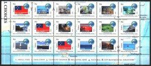 Samoa. 2014. 1163-78. Oceania Small Countries Union, fish, ships. MNH.