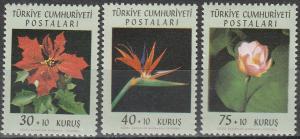 Turkey #B90-92  MNH F-VF  (V564)